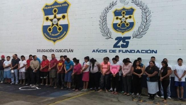 Desarticulan grupo de extermino en el que participan 3 policías en Cuscatlán