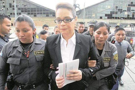 Roxana Baldetti es acusada por EE.UU. de ayudar a los Zetas
