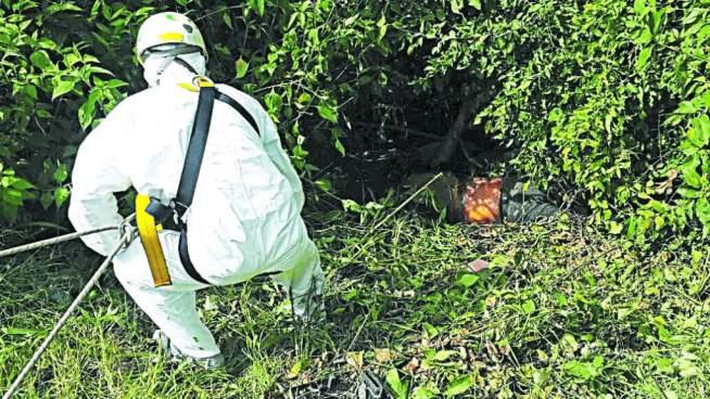 El cuerpo de un hombre salvadoreño fue localizado en Honduras