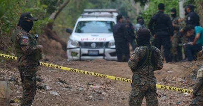 Dos soldados asesinados esta madrugada en Guatajiagua, Morazán