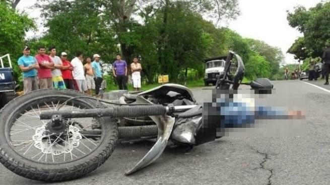 Matan a balazos a un hombre mientras se conducía en una motocicleta en Suchitoto