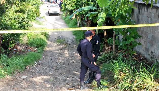 Asesinan a un hombre en el Cantón el Plantar en Moncagua