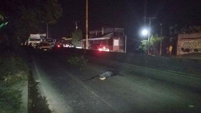 Hombre muere tras ser atropellado por un vehículo en carretera Troncal del Norte