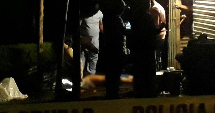 Al menos 8 sujetos irrumpen una vivienda para asesinar a un hombre, en Caluco, Sonsonate
