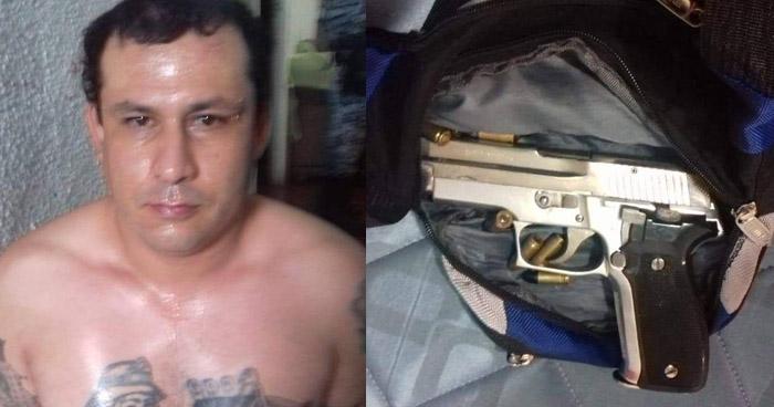 Capturan a pandillero que asesinó a un miembro de la Fuerza Armada