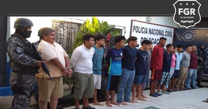 Capturan a 18 homicidas que operaban en Cabañas
