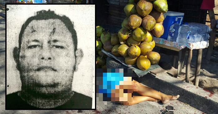 Capturan a pandillero que asesinó a una mujer en Plaza de Cocos de San Luis Talpa