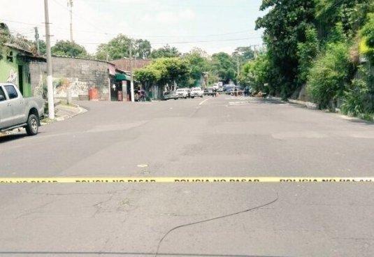 Taxista asesinado por sicarios en Mejicanos