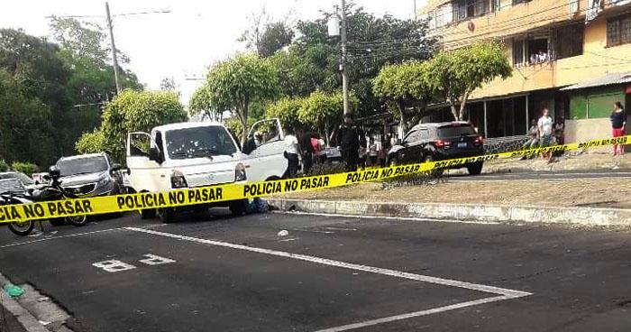 Matan al conductor de un camión frente a la Universidad Nacional