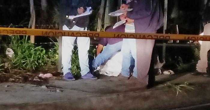 Criminales acribillan a balazos a un hombre, en comunidad de Antiguo Cuscatlán