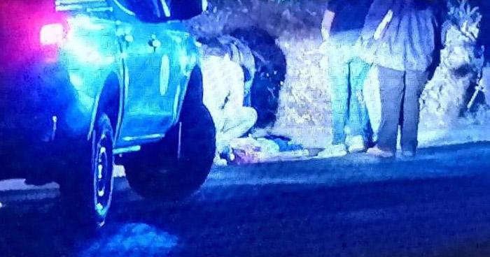 Un menor de edad y un hombre fueron asesinados anoche en Apopa