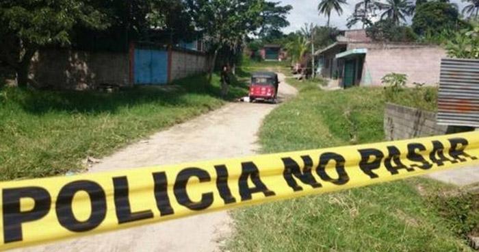 Matan a un hombre dentro de una mototaxi en Atiquizaya, Ahuachapán