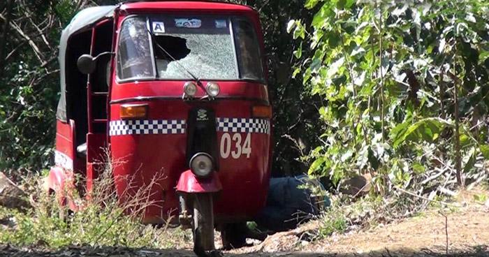 Un mototaxista fue asesinado en Atiquizaya, Ahuachapán