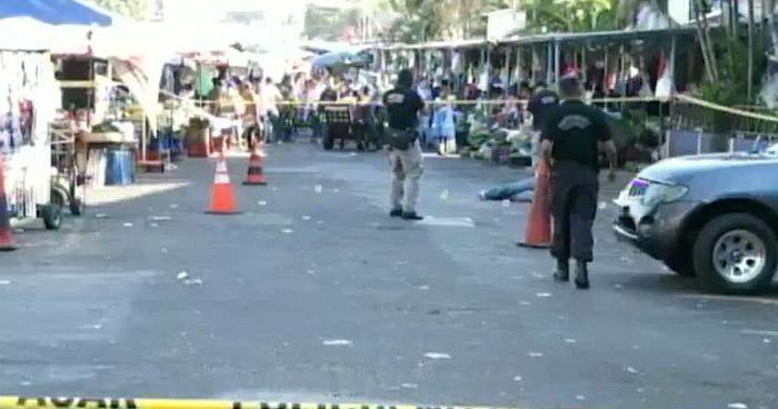 Asesinan a vendedor ambulante por Mercado Central