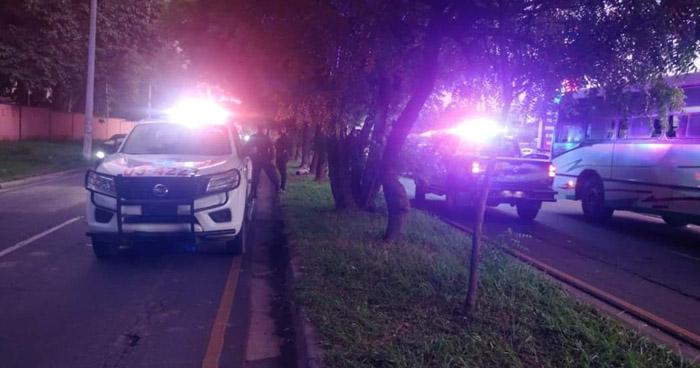 Hombre asesinado en carretera hacia San Miguel