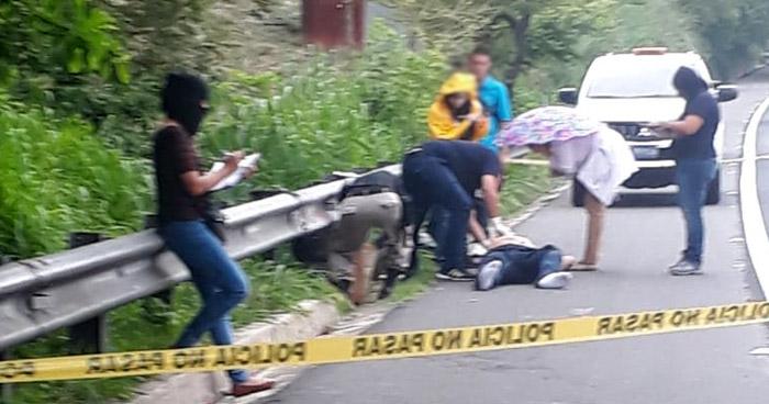 Abandonan cadáver de un hombre en la orilla de la carretera de Oro en Ciudad Delgado