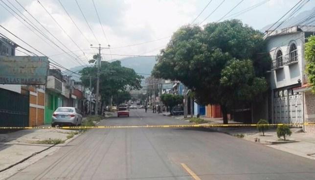 Persona fallecida luego de intercambio de disparos en colonia Satélite, San Salvador