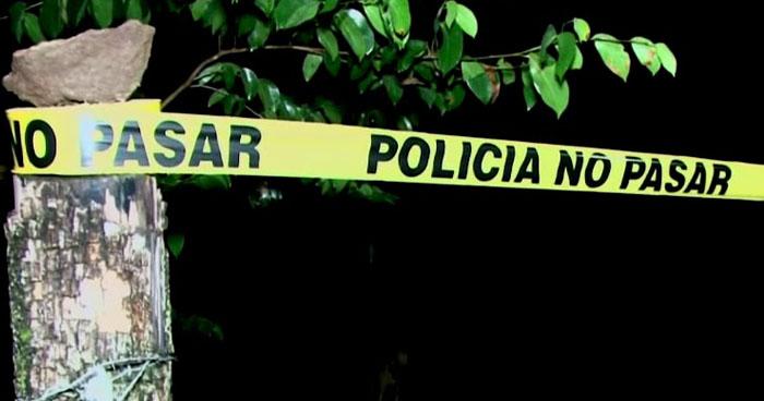 Pandillero murió en un tiroteo con policías en Chilanga, Morazán