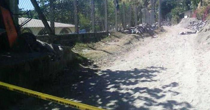 Asesinan a miembro de la Pandilla 18 en la Costa del Sol, en La Paz