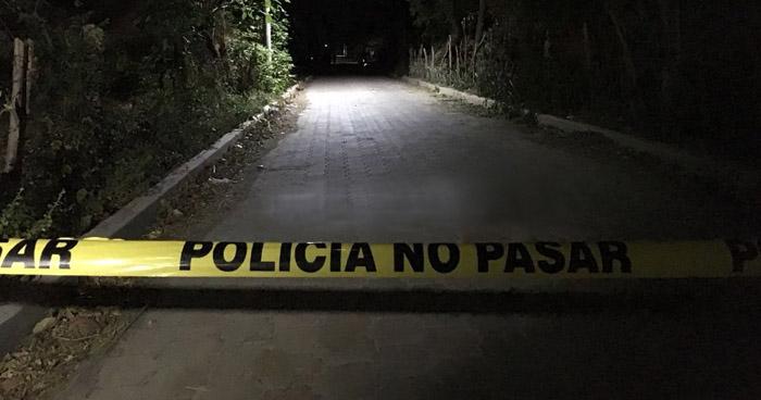 Ejecutan con dos tipos de armas a un hombre en El Tránsito, San Miguel