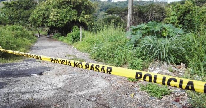 Asesinan a balazos a un joven en Guazapa
