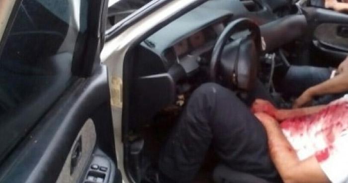 Pandilleros acribillan a balazos a un hombre en San Pedro Masahuat, La Paz