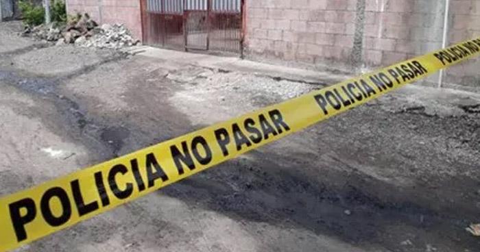Hombre ebrio asesina a su yerno en calle principal de Concepción de Oriente, en La Unión