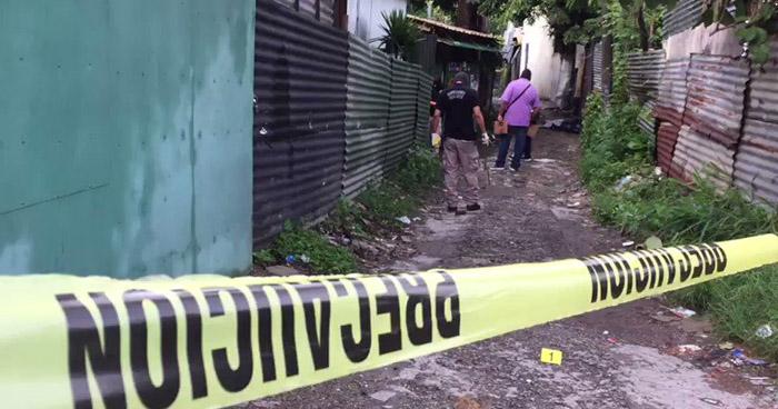Asesinan a veterano de guerra en comunidad La Cuchilla, Antiguo Cuscatlán