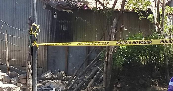 Asesinan a un hombre al interior de su vivienda en Yayantique, La Unión