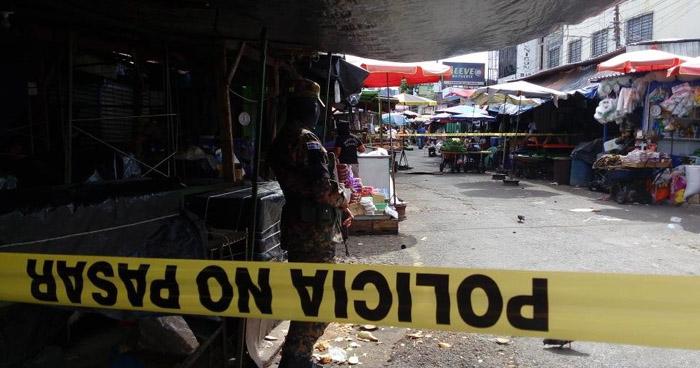 Vendedora asesinada en el Mercado Central de San Salvador
