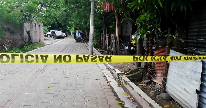Hombre asesinado cuando iba a dejar a su mamá a una colonia de Morazán