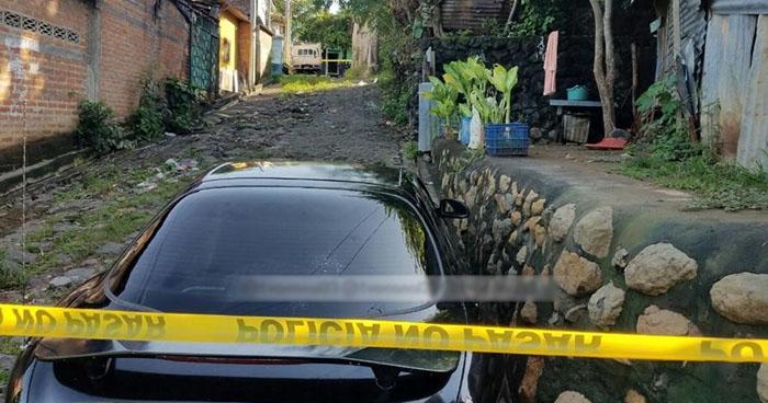 Asesinan a motorista de la ruta 11-B en San Francisco Chinameca, La Paz