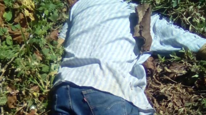 Asesinan a presunto pandillero en cantón La Virgen en San Cristobal, Cuscatlan
