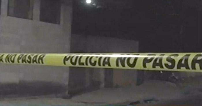 Hombre asesinado en comunidad Peralta de San Salvador
