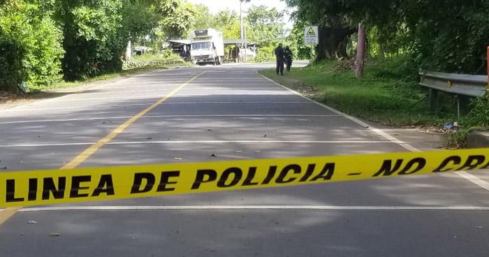 Asesinan a repartidor de pollo en carretera al puerto El Triunfo, Usulután
