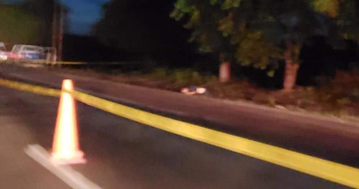 Asesinan a un hombre en carretera de Quezaltepeque, La Libertad