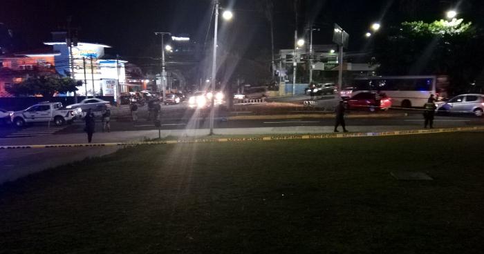 Matan a un presunto asaltante en las inmediaciones de la plaza Salvador del Mundo