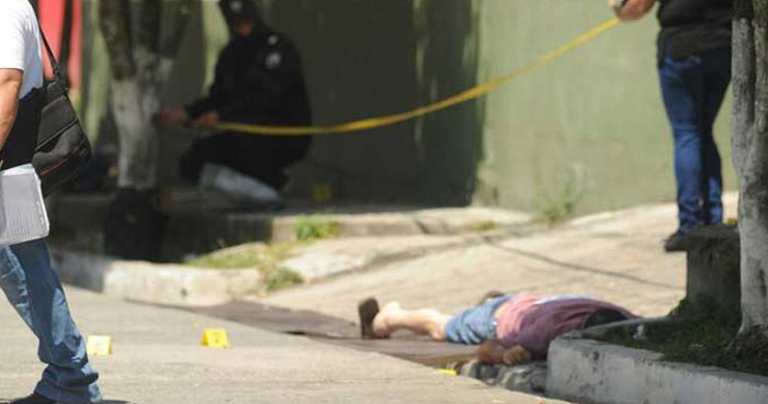 Asesinan a un vendedor de dulces, cuando asistía a un funeral en San Bartolomé Perulapía, Cuscatlán