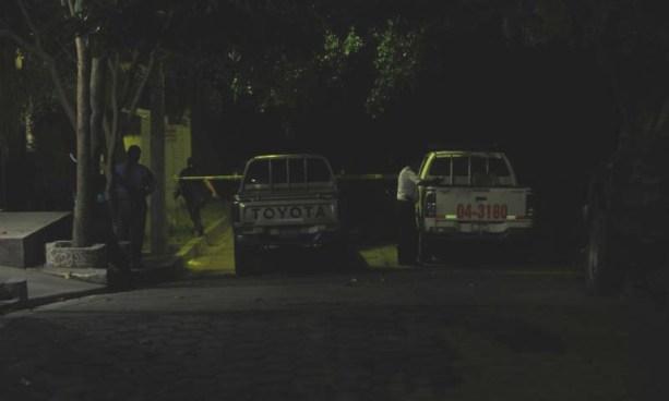 Hincan a hombre frente a su familia y lo asesinan a balazos en San Pedro Masahuat