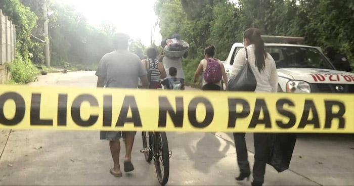 Matan a un agente del CAM en San Rafael Cedros, Cuscatlán
