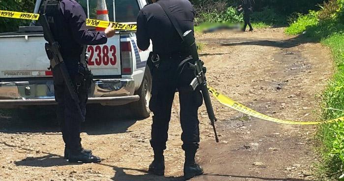 Matan a expolicía en San Pedro Perulapán, Cuscatlán