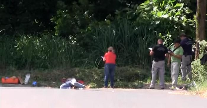 Asesinan a un pandillero junto a su hermano y abandonan sus cadáveres al interior de una finca, en Santa Ana