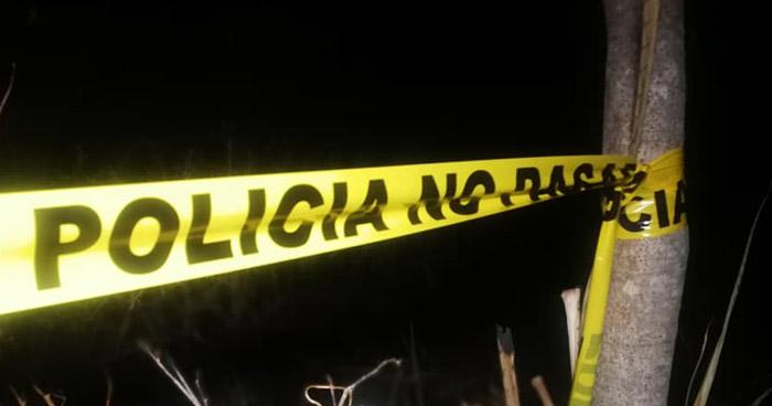 Pandillero muerto tras enfrentarse a policías en Santa Elena, Usulután