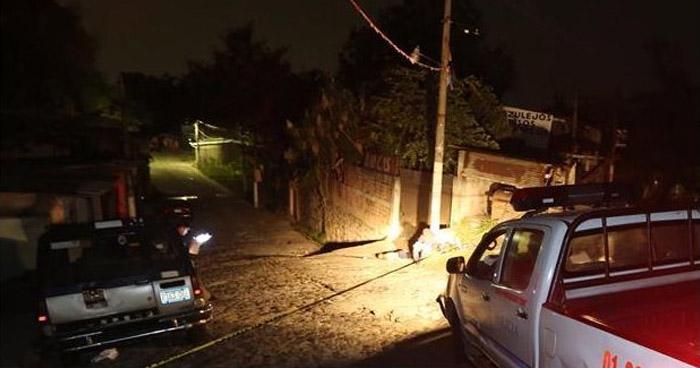 Asesinan a un hombre que se encontraba departiendo en una licorería, en Santo Tomas