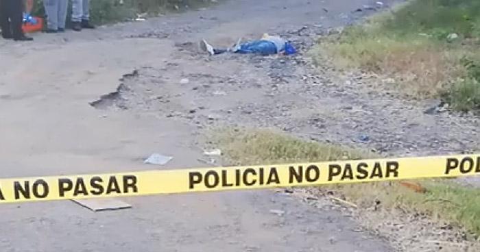 Asesinan a un hombre que no era residente de una colonia de Santa María, Usulután