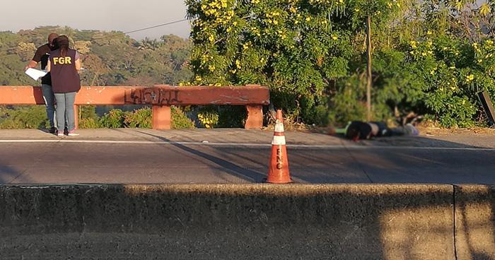 Matan a un vigilante en la carretera Troncal del Norte y provoca caos vehicular