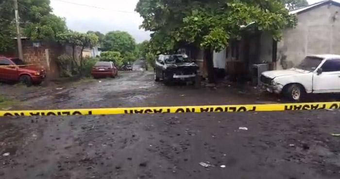 Aprovechan lluvia para asesinar a un pandillero en Usulután