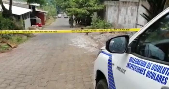 Asesinan a un joven en Barrio de Jucuapa, Usulután