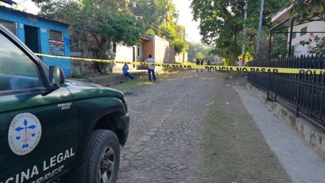 Matan a pandillero de varios disparos en la cabeza en Usulután