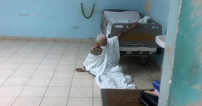 Precariedad y sin atención médica, así el área de aislamiento en Hospital Saldaña